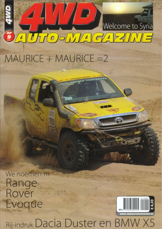 4wd auto magazine syrie voorkant